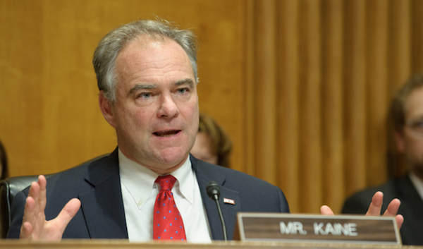 Kaine Urges GOP To Discuss ACA Improvements, Stop Rush To Repeal