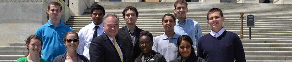 Internships and Senate Page Program